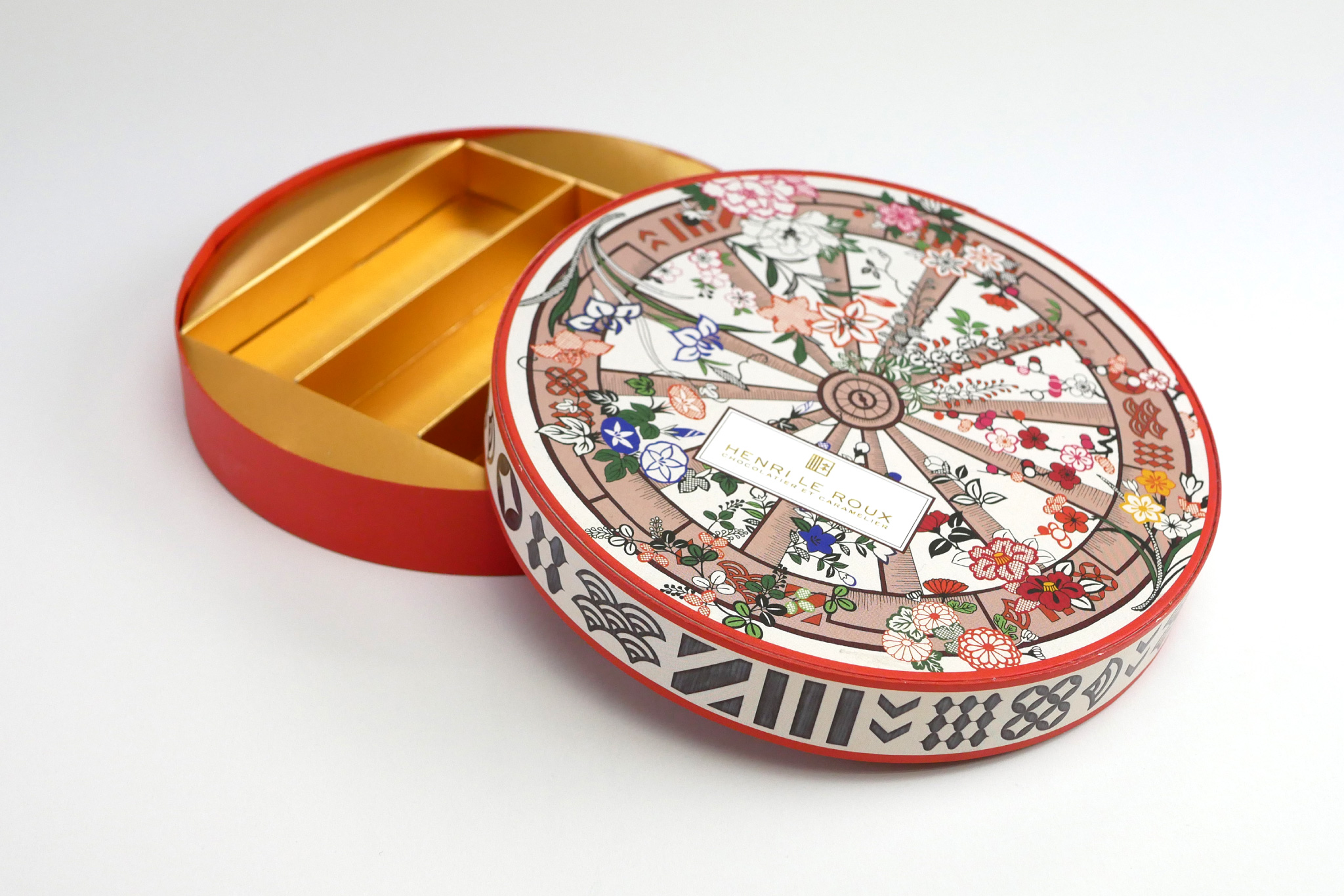 アンリルルー×千總のコラボレーション製品のパッケージ写真