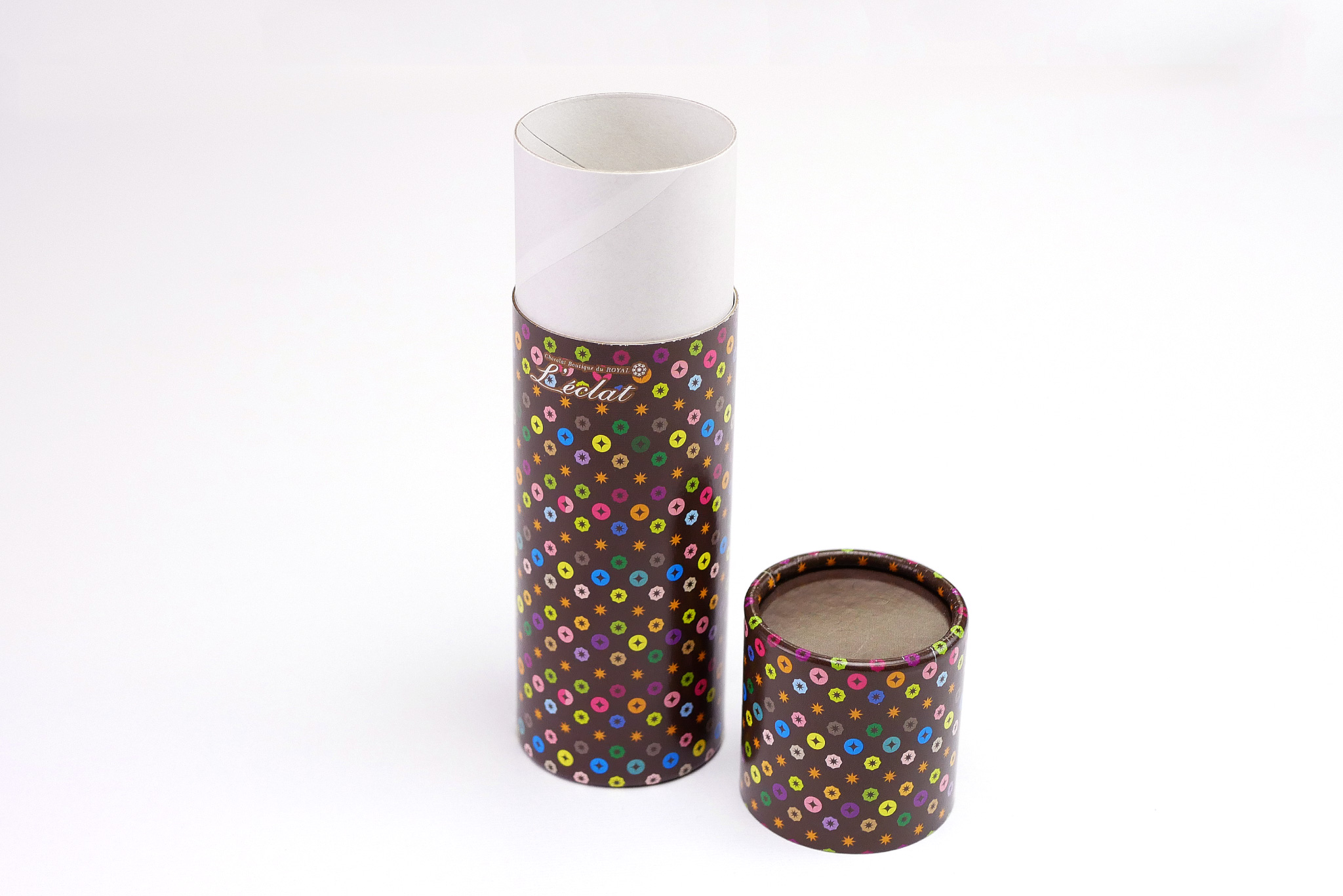 オリジナルパッケージ|紙管|バレンタイン|チョコレート