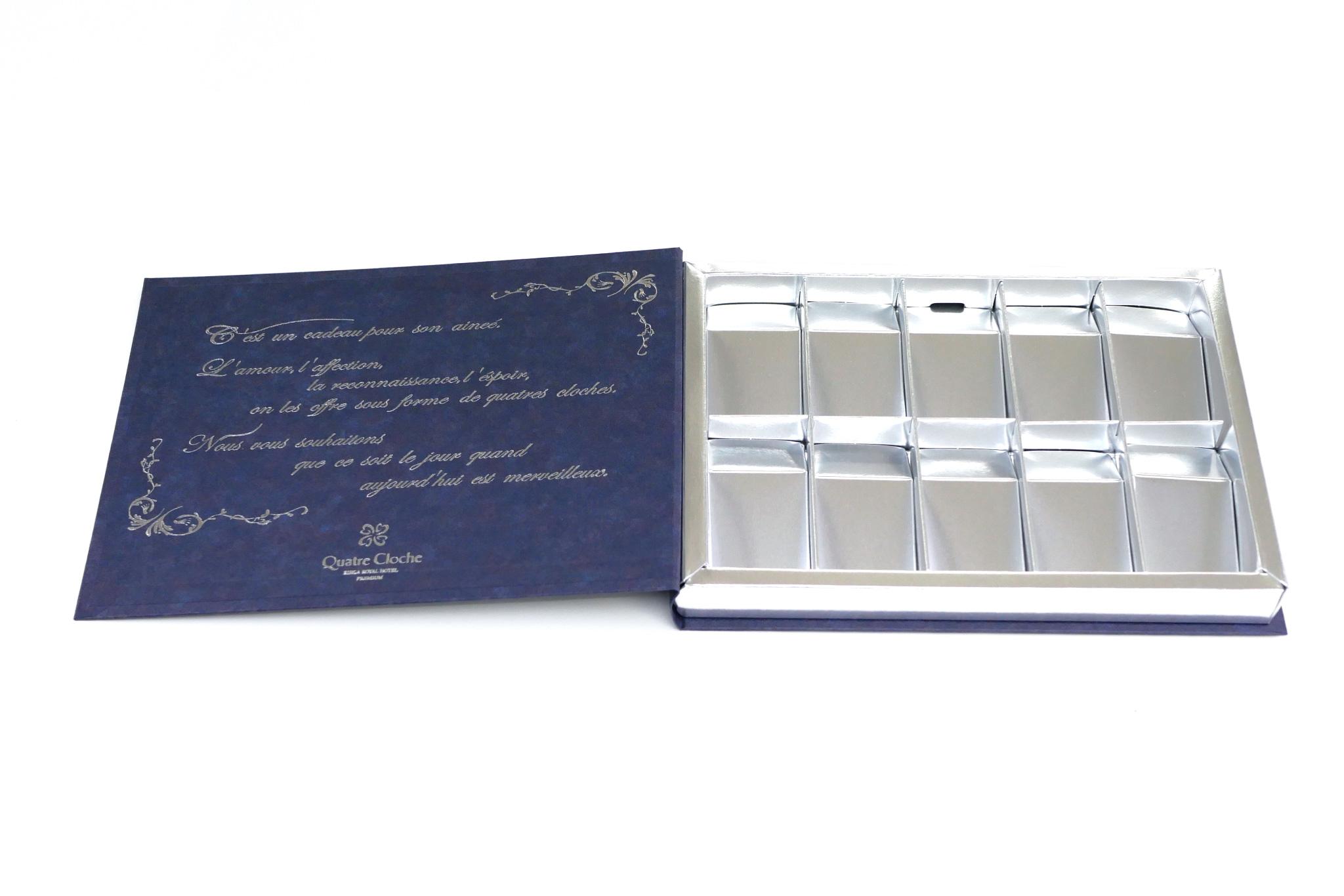 リーガロイヤルホテル バレンタイン リーブルチェスのパッケージ写真