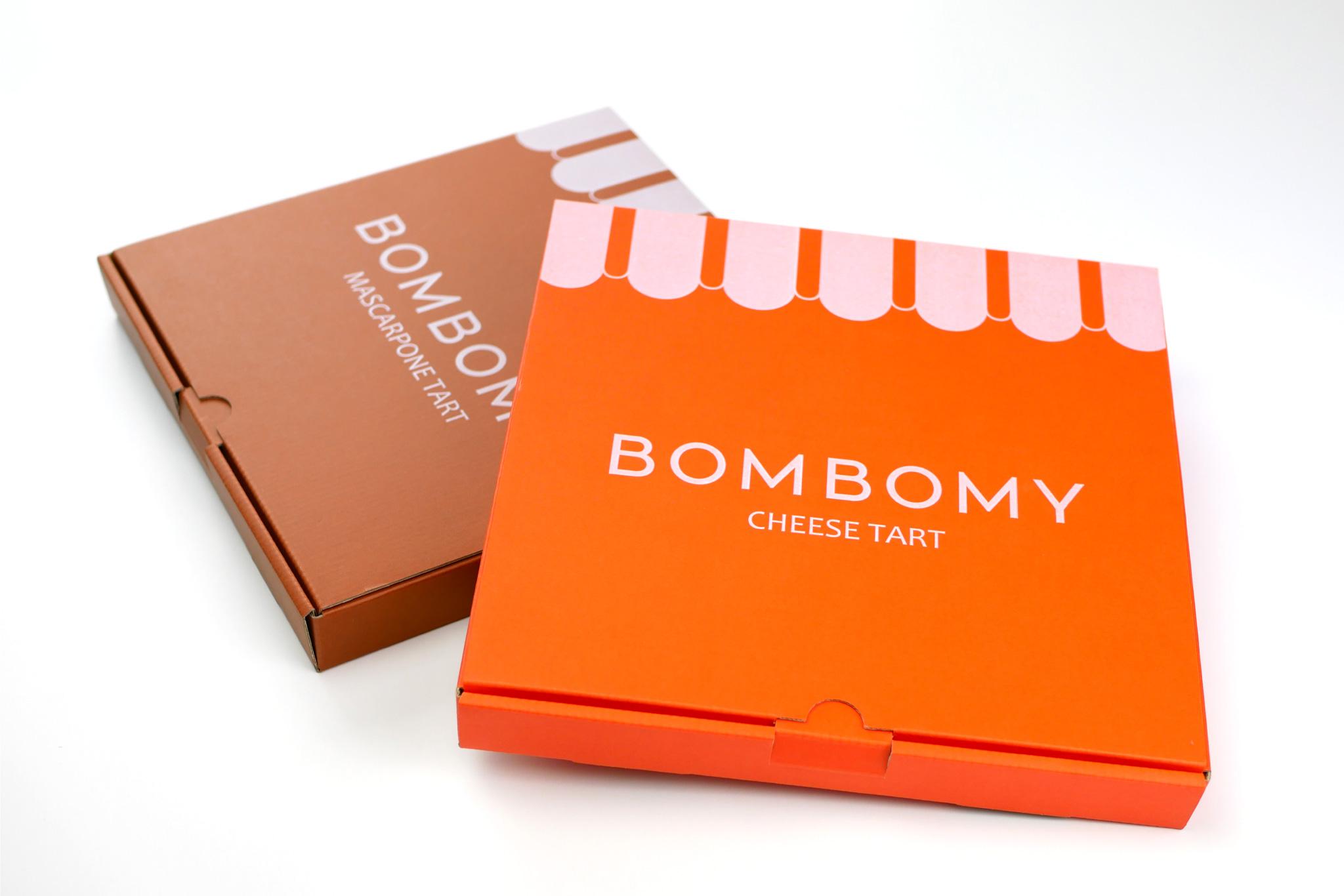 BOMBOMY チーズタルトの通販ケースの写真