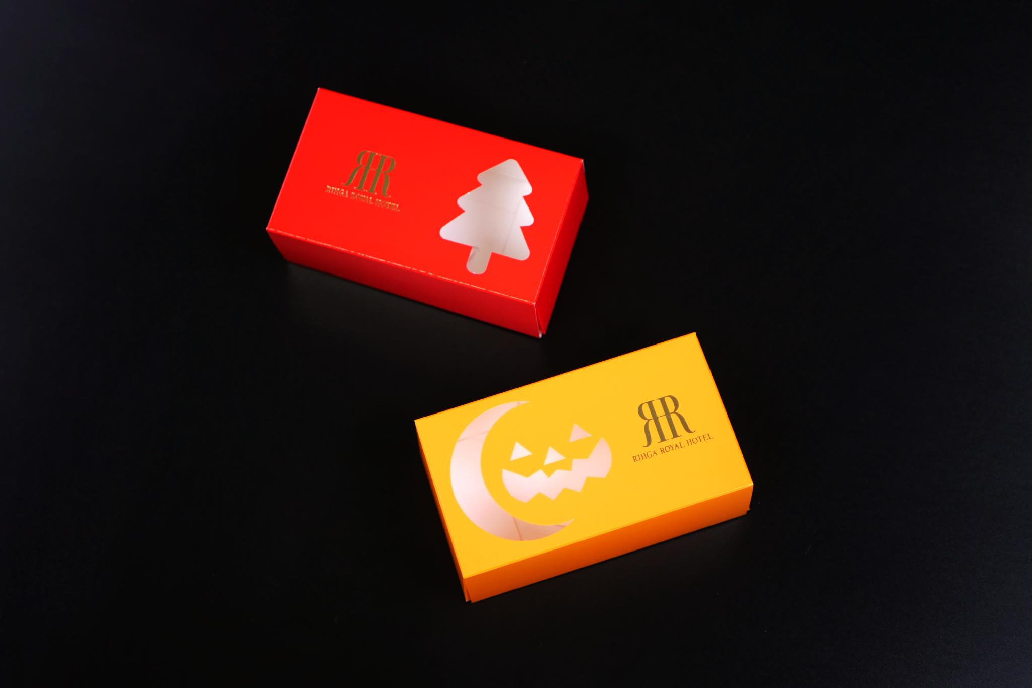 オリジナルパッケージ|ハロウィン|クリスマス|お菓子|トムソン箱